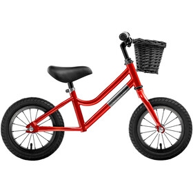 "Creme Micky Push Bike 12"" Boys red speed"